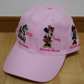 ディズニー(Disney)の海外 ディズニー 限定 歴代 刺繍 刺しゅう キャップ 帽子 ミニー ピンク(キャップ)