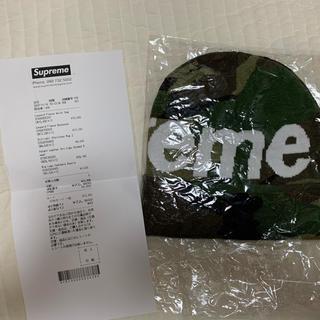 シュプリーム(Supreme)のsupreme big logo cashmere beanie ビーニー(ニット帽/ビーニー)