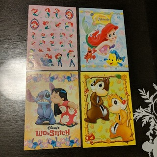 ディズニー(Disney)のアリエル チップとデール リロ&スティッチ ディズニー シール ステッカー(シール)