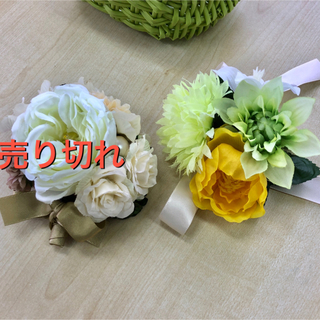 コサージュ 入学式 入園式(ブローチ/コサージュ)