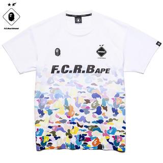 アベイシングエイプ(A BATHING APE)のBAPE x F.C.R.B. GAME SHIRT  (Tシャツ/カットソー(半袖/袖なし))