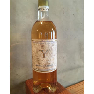 イグレック ド シャトー ディケム1988 750ml Y (ワイン)