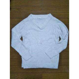 シマムラ(しまむら)のニットセーター しまむら ホワイト(ニット/セーター)