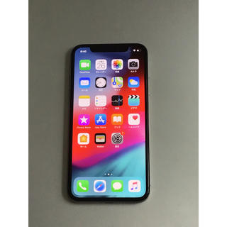 iPhone - 【7427】iPhone X 64