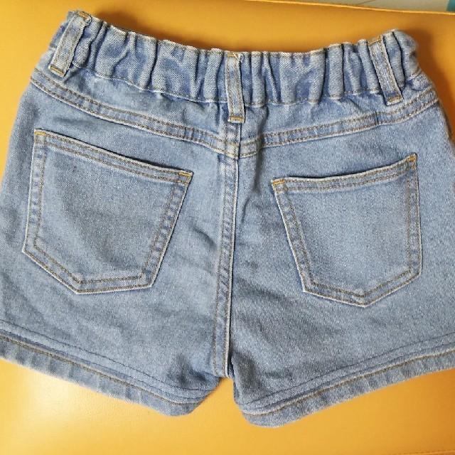 GU(ジーユー)のGU 半ズボン 110センチ キッズ/ベビー/マタニティのキッズ服 女の子用(90cm~)(パンツ/スパッツ)の商品写真