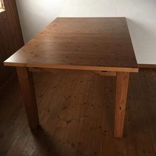 イケア(IKEA)のIKEA 伸縮式ダイニングテーブル【引取り希望】(ダイニングテーブル)