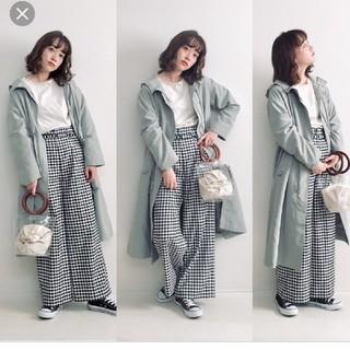 ジーユー(GU)のgu☆完売☆ドローストリングフーデットコート☆インスタ☆wear☆(スプリングコート)