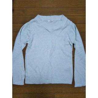 シマムラ(しまむら)のニットセーター 水色 しまむら(ニット/セーター)