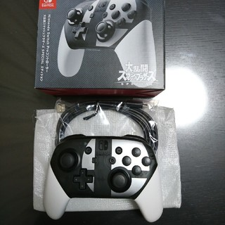 ニンテンドースイッチ(Nintendo Switch)の純正 任天堂 Switch Proコントローラー スマッシュブラザーズ(その他)
