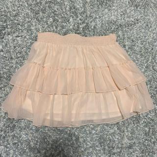 ザラ(ZARA)のZARA チュールスカート  Lサイズ 新品未使用(ミニスカート)