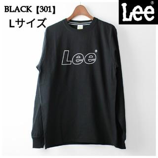 Lee - リー Lee アウトラインロゴ Tシャツ ブラックL