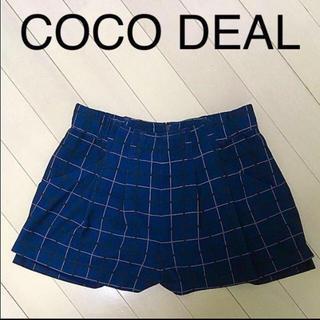 ココディール(COCO DEAL)のCOCO DEAL チェックショートパンツ(ショートパンツ)