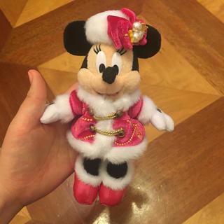 ディズニー(Disney)のディズニー ミニー ぬいぐるみキーホルダー(キーホルダー)