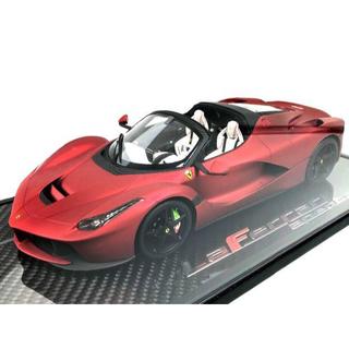 フェラーリ(Ferrari)の世界限定10台 BBR 1/18 ラ・フェラーリ アペルタ 特別仕様 完売品(ミニカー)