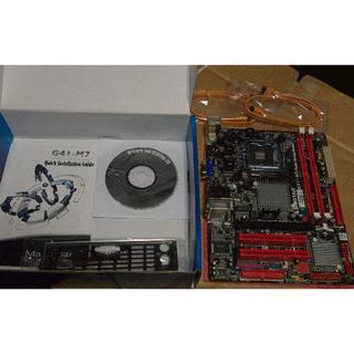 <送料込> Biostar G41-M7 マザーボード LGA775(PCパーツ)