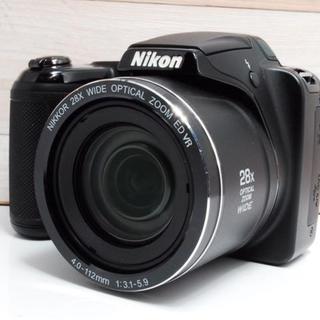ニコン(Nikon)の★美品★手のひらサイズ★Nikon L340★(コンパクトデジタルカメラ)