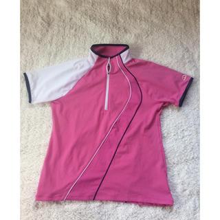 エレッセ(ellesse)のエレッセ  レディース テニス ポロシャツ ピンク S(ウェア)