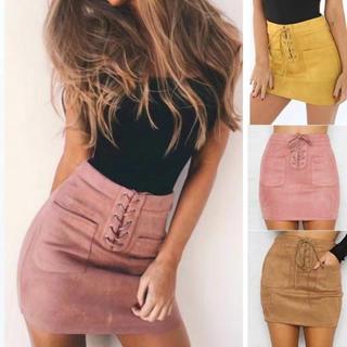 ザラ(ZARA)の海外セレブ リボンスカート2color(ミニスカート)