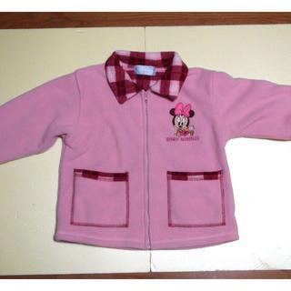 ディズニー(Disney)のミニーちゃん(BABY MINNIE)のフリースジャケット(サイズ95)(ジャケット/上着)