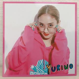 イーガールズ(E-girls)のYURINO フォトカード (女性タレント)