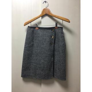 ロペ(ROPE)のROPE スカート グレー(ひざ丈スカート)