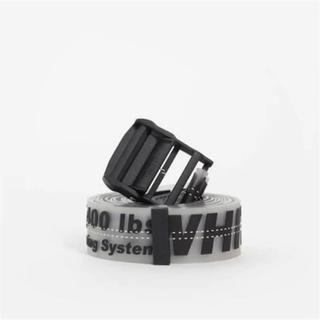 オフホワイト(OFF-WHITE)のOff-White ss18 Rubber Industrial Belt(ベルト)