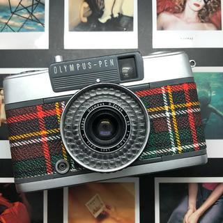 OLYMPUS - 【美品】OLYMPUS  PEN EE2 フィルムカメラ チェック柄【完動品】