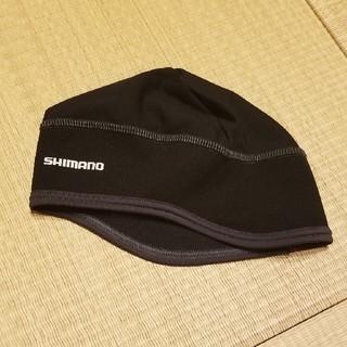 シマノ(SHIMANO)の【美品】SHIMANO ウォームキャップ(ウエア)