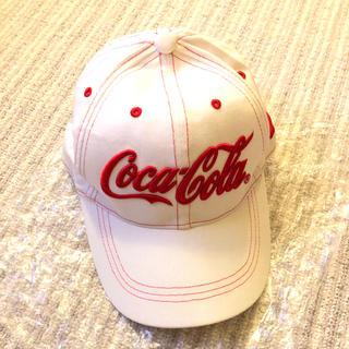 コカコーラ(コカ・コーラ)のコカコーラ 赤白ロゴキャップ ゴルフ 帽子(キャップ)