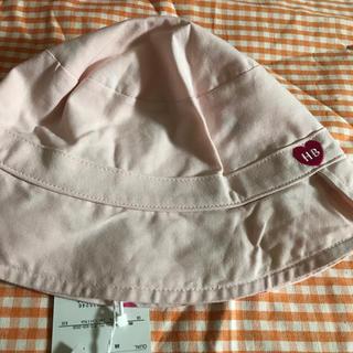ミキハウス(mikihouse)の⑪【52】ミキハウス  リバーシブル帽子(帽子)