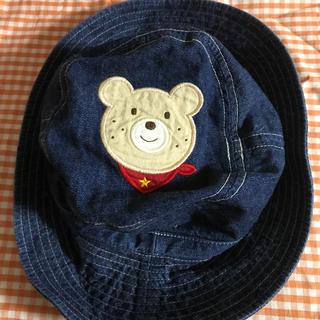 ホットビスケッツ(HOT BISCUITS)の⑪(54】ミキハウス  帽子(帽子)