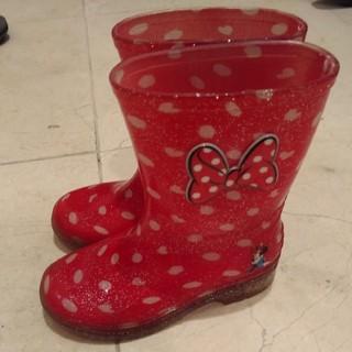 ホーキンス(HAWKINS)のミニーマウス レインブーツ 長靴 16センチ(長靴/レインシューズ)