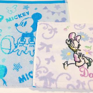 ディズニー(Disney)のミッキー(フェイスタオル)デイジー(ハンドタオル)(タオル)