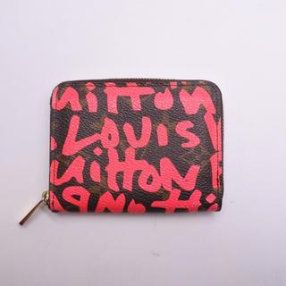 LOUIS VUITTON - ルイヴィトン モノグラム グラフィティ ジッピー コインパース 小銭入れ 財布