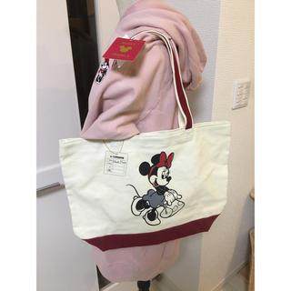 Disney - ミッキートラベルズ トートバッグ ミニー ディズニー