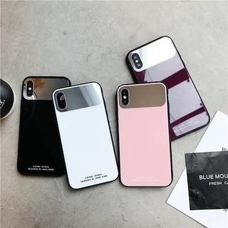 SALEです iPhoneケース 鏡付き お洒落 iPhoneケース