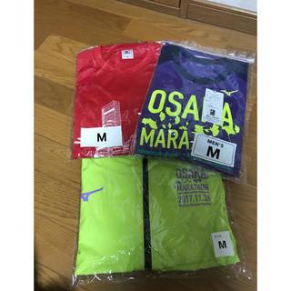 ミズノ(MIZUNO)の大阪マラソン     Tシャツ、ナイロンジャケット(ウェア)