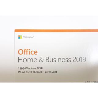 マイクロソフト(Microsoft)の正規品Microsoft Office Home & Business 2019(PCパーツ)