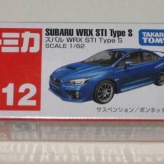 絶版赤箱トミカ112 スバル WRX STI Type S 新品(ミニカー)