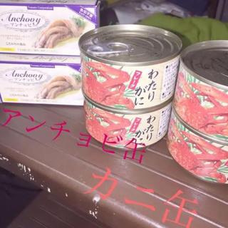 カニ缶・アンチョビ缶【4缶・2缶】【特価】(缶詰/瓶詰)