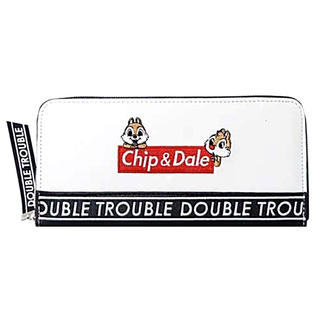 ディズニー(Disney)の❤️🐿チップスとデールラウンドファスナー長財布【新品未使用、即購入可❣️】❤️(財布)