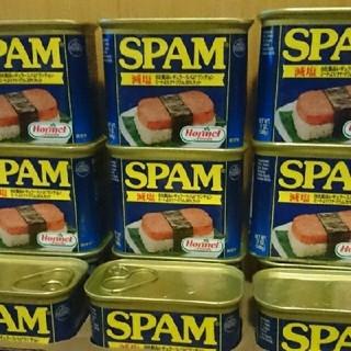 スパムポーク 減塩 9缶(缶詰/瓶詰)