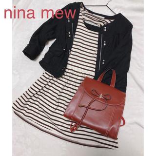 ニーナミュウ(Nina mew)の☆*°nina mew☆*°背中空きボーダーワンピ💋(ミニワンピース)