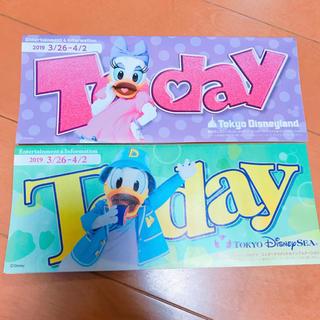 ディズニー(Disney)の最新❤️ディズニーtoday(印刷物)