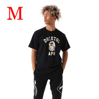 アベイシングエイプ(A BATHING APE)の【M】FCRB x BAPE MULTI CAMO COLLEGE TEE (Tシャツ/カットソー(半袖/袖なし))