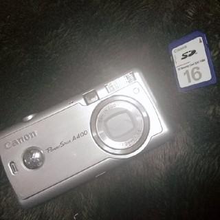 Canon PowerShot400(コンパクトデジタルカメラ)