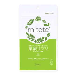 【送料無料】mitete 葉酸サプリ 7日分(その他)