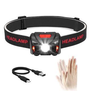 人気!充電式 ヘッドライト LED 110ルーメン(ライト/ランタン)