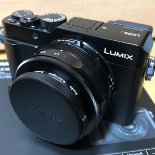 パナソニック(Panasonic)の極美品Panasonic lumix LX100Ⅱ パナソニック lx100m2(コンパクトデジタルカメラ)