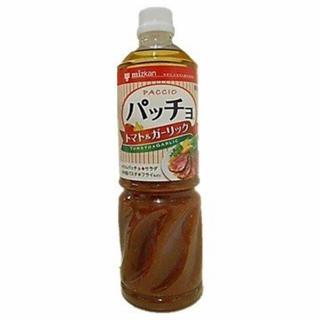 ミツカン パッチョドレッシング トマト&ガーリック 1L×4本(調味料)
